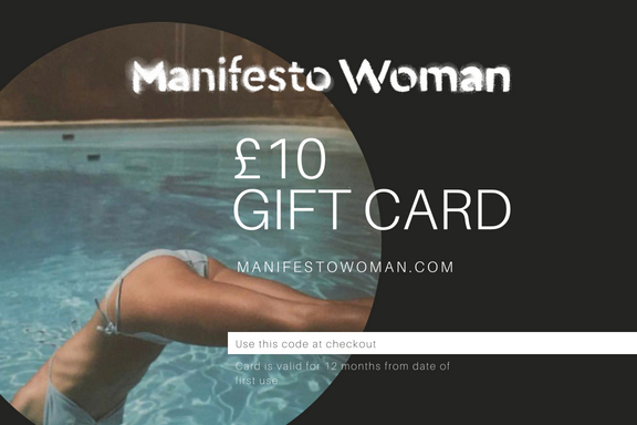 Sustainable fashion gift cards at Manifesto Woman