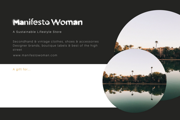 Best gift card for clothes from Manifesto Woman