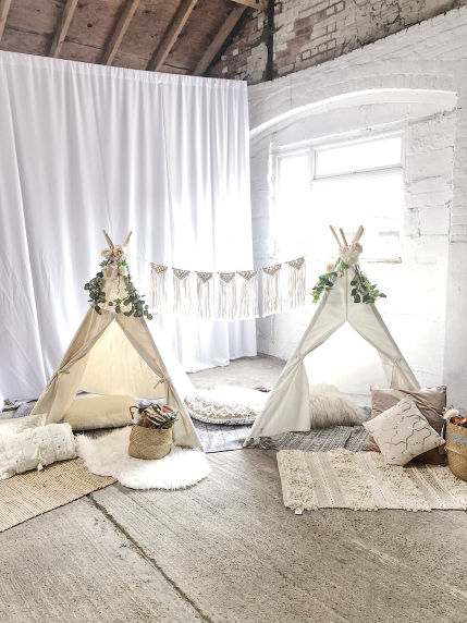 Fable & Moon: kids event styling and entertainement