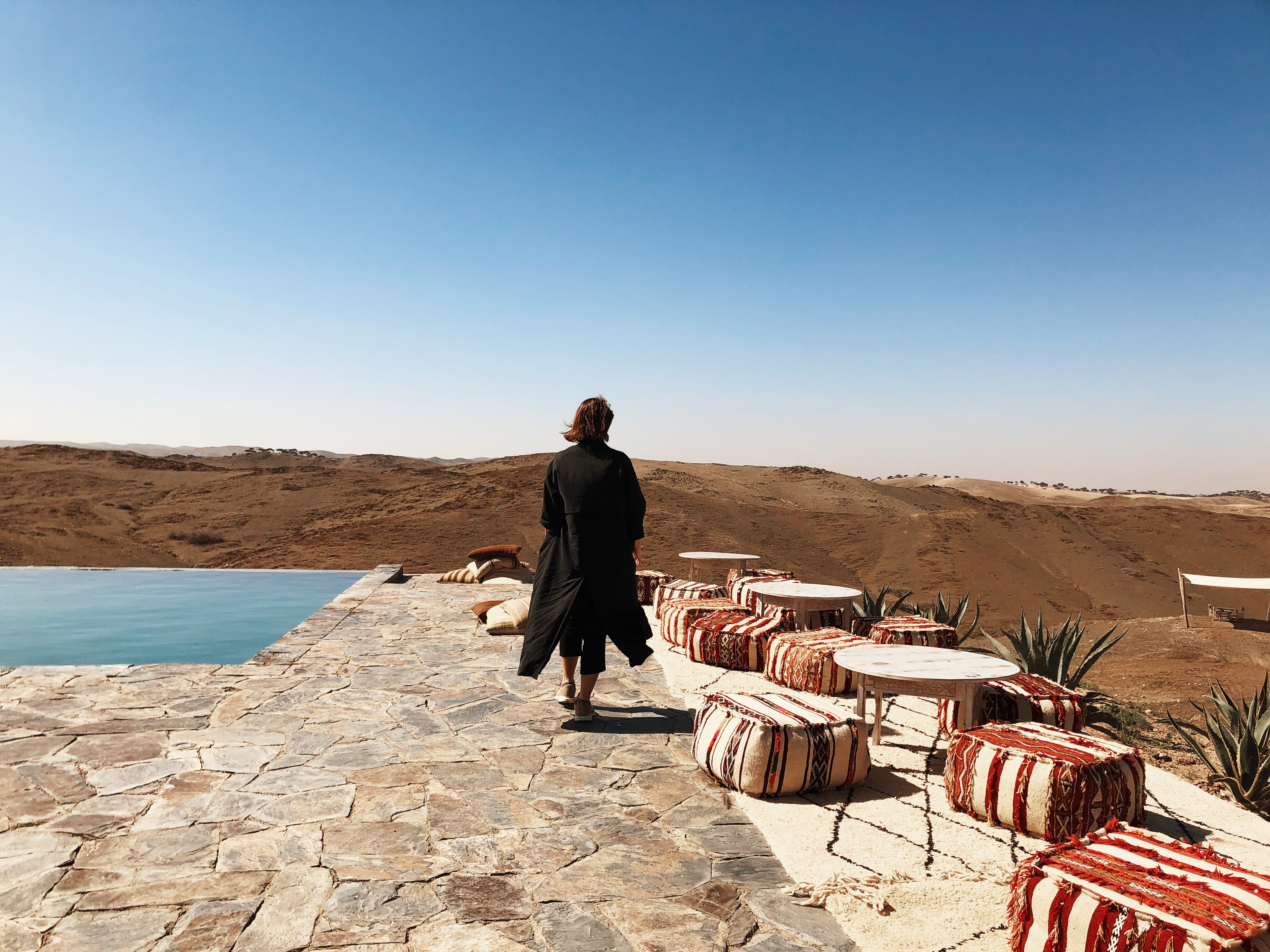 Luxury tented camp in Morocco: The White Camel
