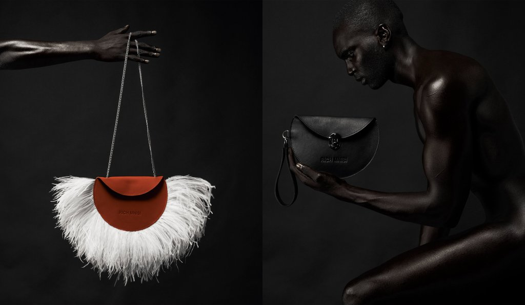 Rich Mnisi is an emerging black African fashion designer