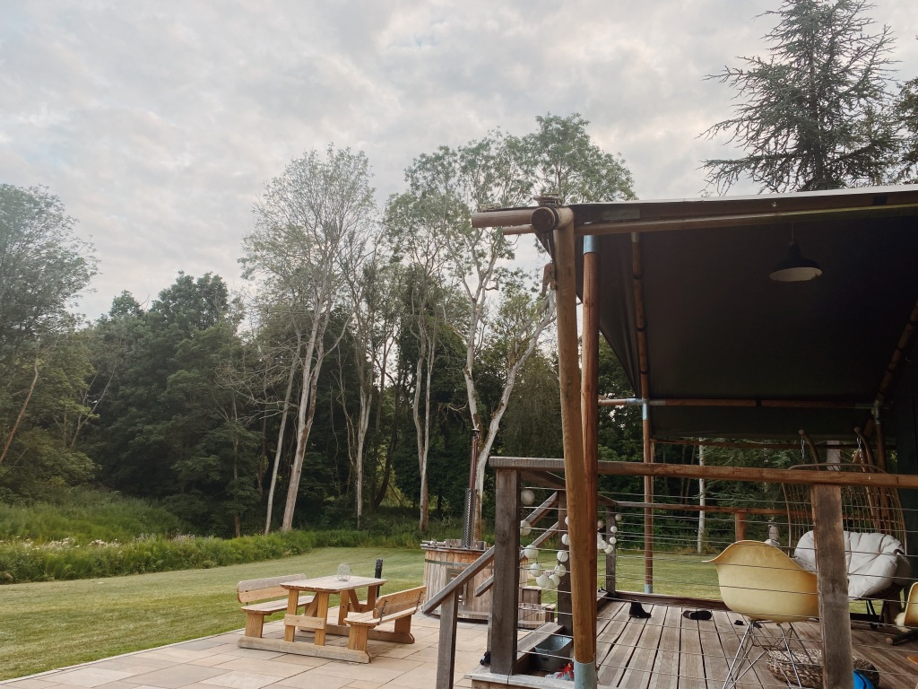 The Lost Garden Retreat glamping in Suffolk